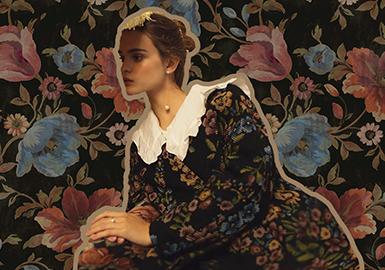 烟雨巴黎家居风花卉--女装图案趋势