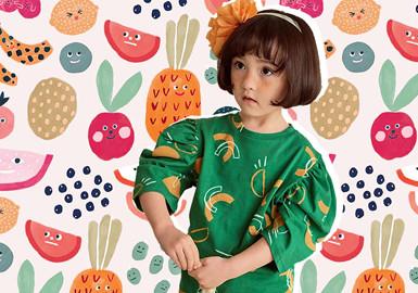轻松趣味水果--童装图案趋势