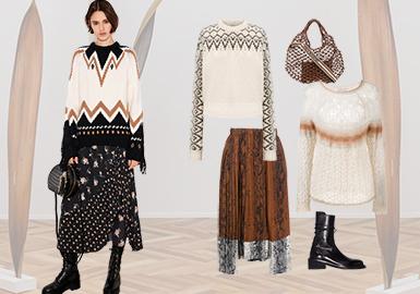 现代融合--女装毛衫组货搭配