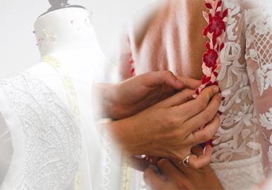 「雕刻时光 线引霓裳」--婚纱刺绣工艺趋势