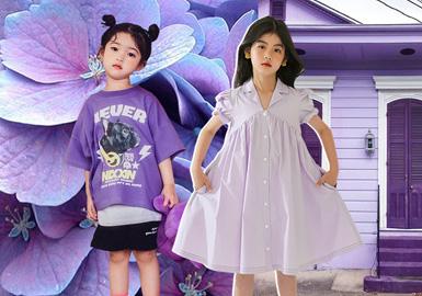 紫色系--童裝色彩趨勢