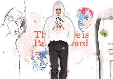 艺塑人物--男装图案趋势