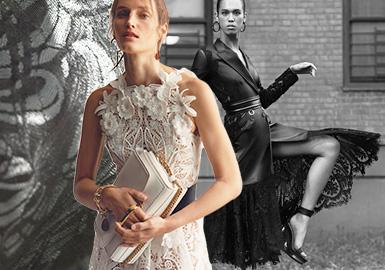 新派蕾丝--女装蕾丝面料趋势
