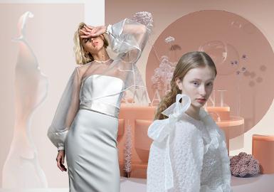 为了摆脱传统婚礼和对未来的各种期望,婚礼的形式以及场所越来越多样化,新娘需要多次更换服装和配饰长时间活动,伴随着这些现代的庆祝活动,新郎和新娘越来越意识到婚礼对经济和环境的影响,因此,购买的商品范围愈加广泛,选择婚礼蜜月后依然可以穿戴的服饰品的越来越多,本报告结合过去一年时间消费者的在线搜索、浏览和购买行为,考虑社交媒体指标和品牌的影响关注度,多平台提及产品、标签和相关关键字,以及情绪分析,总结以下关键点。