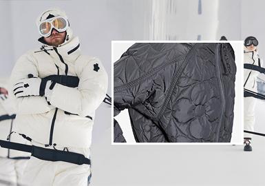 時尚防護--男裝棉羽絨工藝趨勢