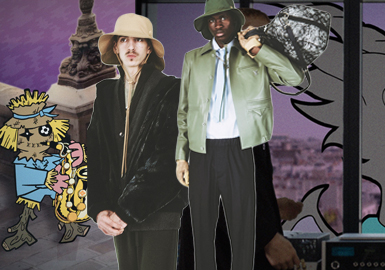 近日,Louis Vuitton 创意总监 Virgil Abloh 为品牌最新系列提出了一个新概念,以动画新媒体代替传统的时装秀形式。此番短片正式发布,故事始于品牌发源地 Asnières,以一群色彩斑斓虚拟动画形象的一次虚拟而真实的环球旅行为主线展开。Louis Vuitton 2021 春夏系列也将以巡回的方式率先在 8 月 6 日登陆上海,实体走秀与线上直播同步开展,届时各位可通过直播欣赏到 Virgil 的 LV 最新系列。