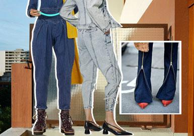 細節是王道--女裝牛仔褲工藝細節趨勢