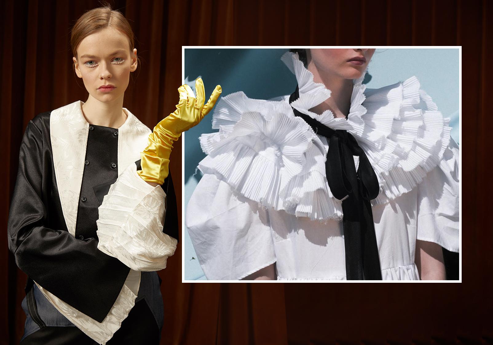 領部共鳴--女裝工藝細節趨勢