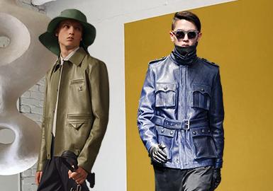 口袋升級--男裝皮衣工藝趨勢
