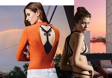 極致背影--女裝美背內衣工藝細節趨勢