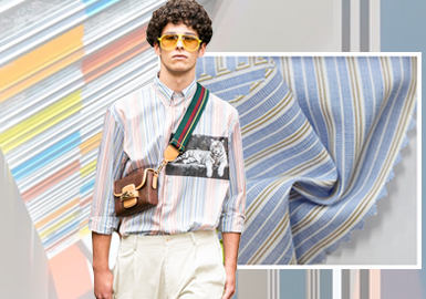 焕变夏日--男装衬衫面料趋势