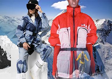凜冬時尚--男女裝滑雪服廓形趨勢