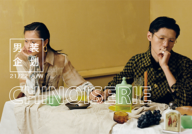 CHINOISERIE--男装主题企划