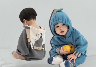成立于2012年的中国婴幼童品牌papa童装,以简单纯粹为孩子着想深受家长喜爱。在20/21秋冬的款式开发中,papa注重图案的变化,将艺术插画运用于款式开发当中,焕新品牌时尚感觉。