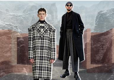 時尚風貌--男裝大衣廓形趨勢
