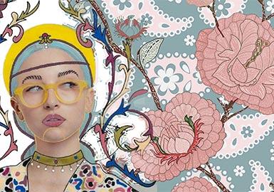 复古佩兹利Paisley-女装图案趋势
