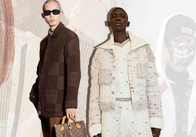 實用考究--男裝毛衫夾克廓形趨勢