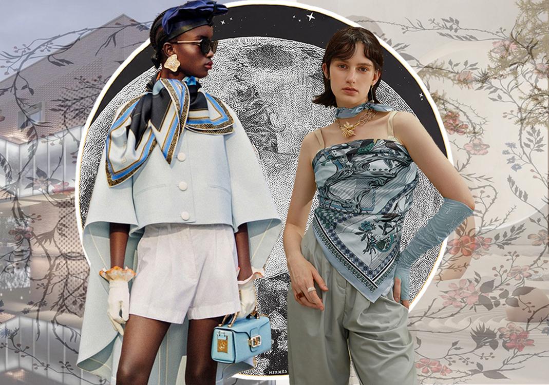 時尚多樣性--絲巾趨勢綜合分析