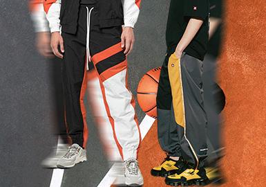 運動時刻--男裝褲裝廓形趨勢