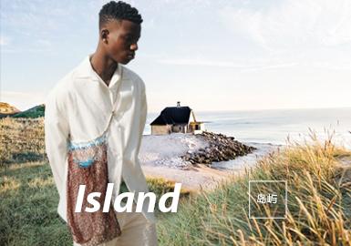 岛屿--2022春夏男装主题面料趋势