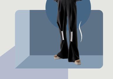 局部演变--女装裤子廓形趋势