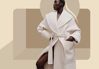 肩部塑造--女装大衣廓形趋势