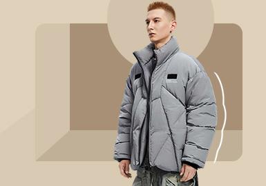 实用寒冬--男装棉羽绒服廓形趋势