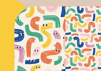 艺术家色块--中小童图案趋势