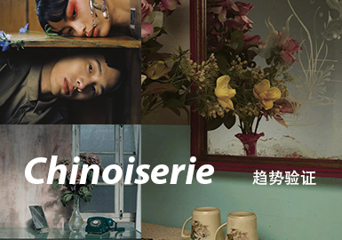Chinoiserie--男装主题色彩趋势验证