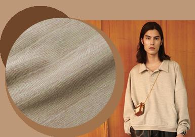 质感升级--男女装针织混纺面料趋势