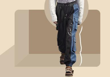 舒适延续--男装裤装廓形趋势