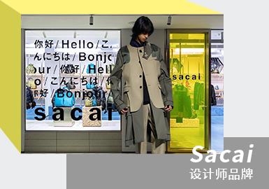 Sacai 20/21秋冬季男装款式将融入于KAWS的联名款式并在今年7月正式发布。足见其对双方的欣赏之意,而本次更是带来了Sacai全新合作的震撼消息,当中共揭露了大衣、毛衣、毛呢和羽绒夹克、长裤、手袋、揹包、长袜、连帽披肩等多款品项,整体设计上除了运用标志性的缤纷色调呈现外,也将Sacai擅长的军装气息与经典的解构设计元素融入其中。