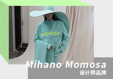 Mihano Momosa是2011年由创始人Miano Anusic在塞尔维亚创立的品牌,品牌致力于女性化的表达,极具辨识度。最擅长将羽毛、珍珠、蕾丝和鲜花等元素运用在礼服与成衣上,浪漫且优雅,尤其3D浮夸花卉是品牌的代表元素。颜色上运用纯净的白,温柔的紫,热情的橙等丰富温柔的颜色既温柔又高级, 在ins上也迅速圈粉。