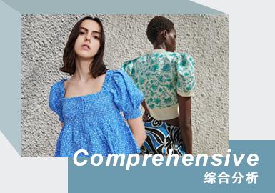 """快时尚品牌中以ZARA、UR以及韩都衣舍为重点分析对象进行整理。其中ZARA品牌近几年来市场呈现收缩趋势,而国内品牌UR顺势而生以""""快奢""""的理念赢得消费者的喜爱,同时韩都衣舍频繁的社交媒体活动增加其品牌的影响力,抢占市场。快时尚品牌款式风格相对会更丰富一些,表格整理了重点品牌、次重点品牌以及快时尚品牌中的主流风格和热门风格。"""