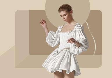 新式新娘装--女装婚纱廓形趋势