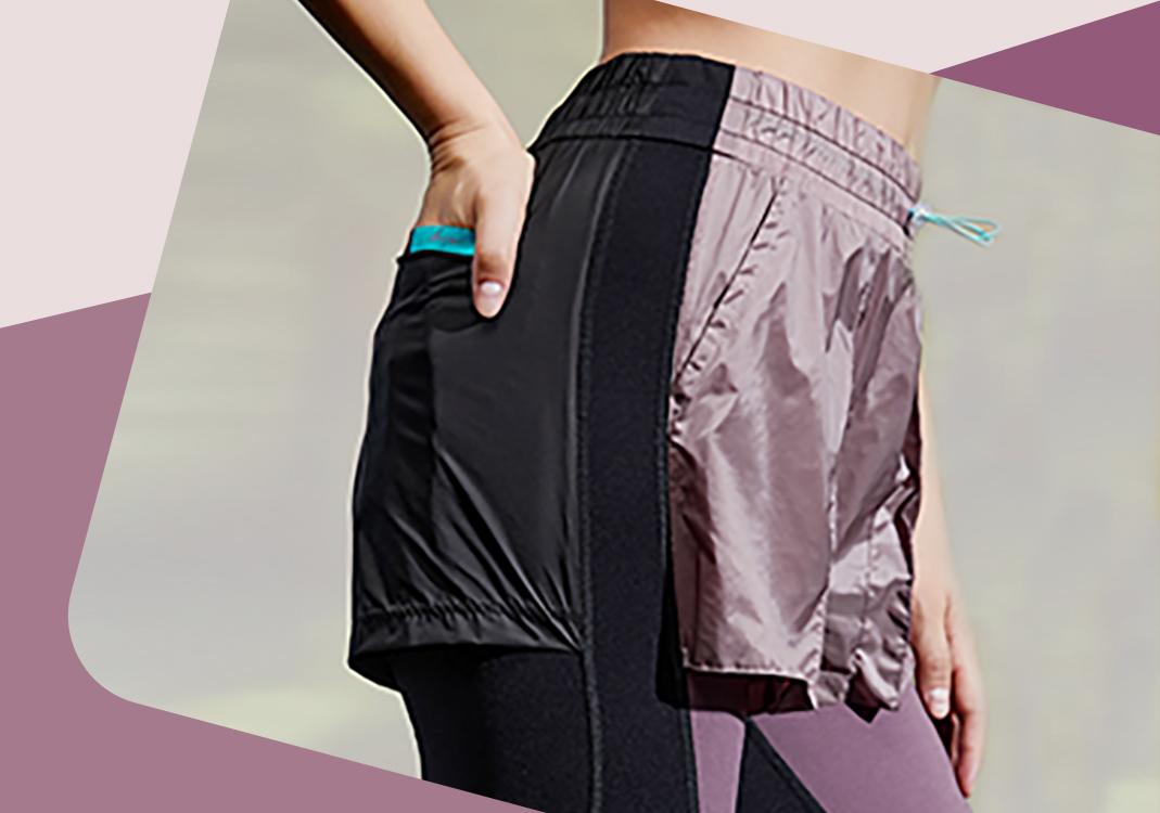 新潮加法--瑜伽裤细节趋势