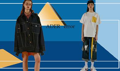 ADER error没有太过复杂或浮夸的设计:仅仅是简单的卫衣针织衫和大衣,oversize的廓形,可爱复古的配色,牛仔的款式大都简洁利落的裁剪,融入充满趣味的小细节。品牌试图整理经典的基础款式的衣物,将他们重新调整并赋予新的概念。