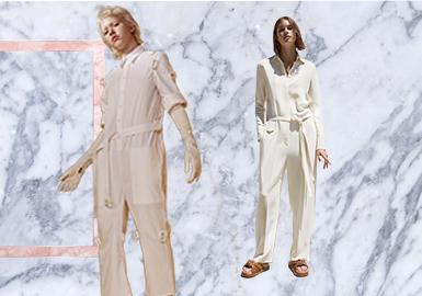 工装连体裤是这一季度力推的单品,简约时尚的版型让工装连体裤不管是在工作中,还是在日常的生活中都能让人轻松的穿着。时装潮流中,这种款式怀旧并兼具功能性的款式曾是蓝领工作者的制服,而现在被演绎的越来越时尚化,实用性兼具美观度的设计,让其成为秋冬季必备单品。